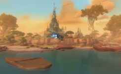 "Snapshot from the ""What is Wildstar"" video."